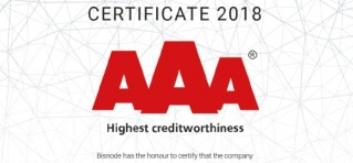 Certificate - Highest creditworthiness